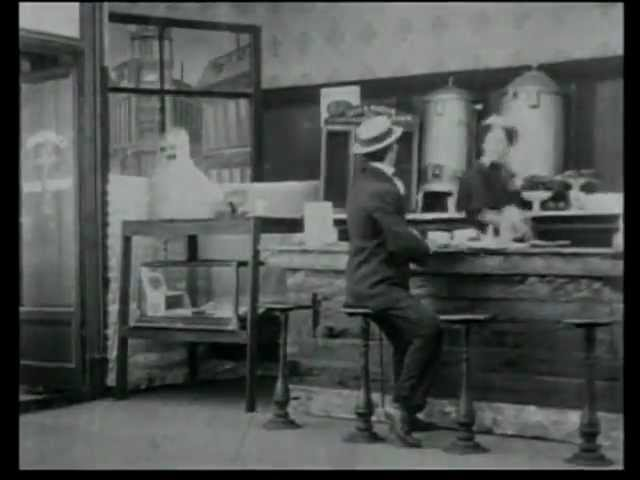 Mr. Flip (1909) - 1st Pie in the Face in a movie - BEN TURPIN | Gilbert M. Broncho Billy Anderson