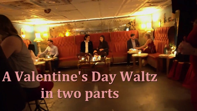 HD Valentines Day Tango Performance by Gustavo Monica at Esquina Tango