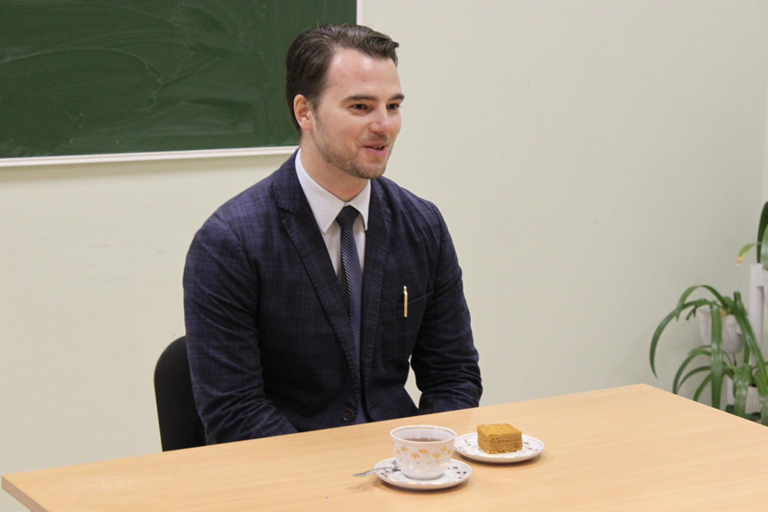 Журналист телеканала «Союз» Тимофей Обухов