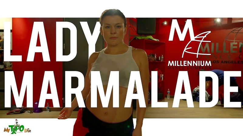 Christina Aguilera - Lady Marmalade | Choreography with Janelle Ginestra