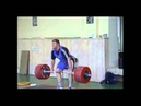 Evgeny Chigishev 220kg Power Clean Jerk