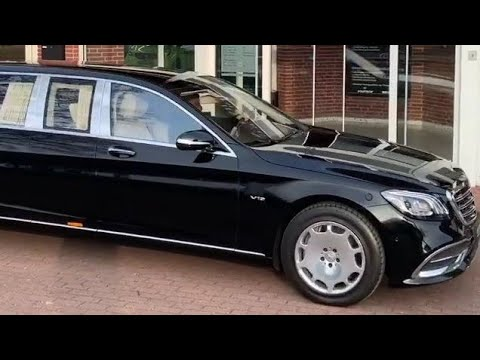 First Class 2019 Mercedes Maybach S 650 Pullman V12
