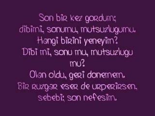 Kolpa - Son Nefesim Şarkı Sözü (Lyrics)