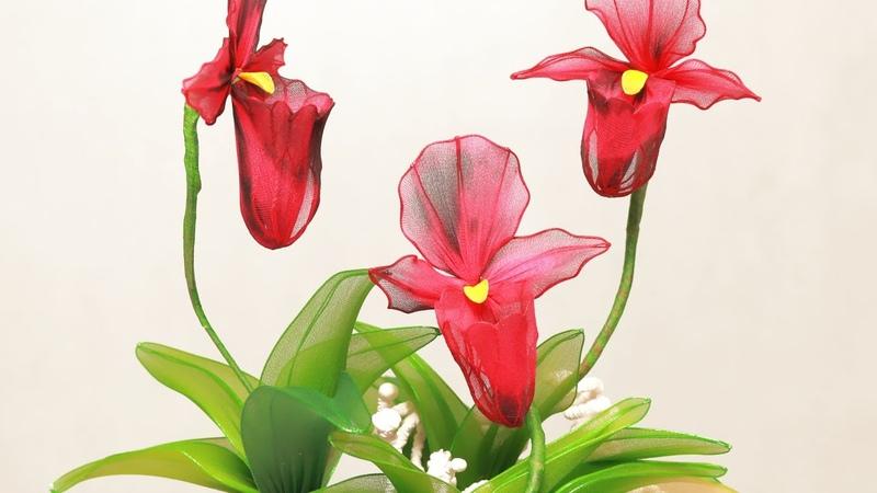 Tập 9: Làm hoa LAN THIẾT HÀI bằng vải voan - Didahaa.com: Chia sẻ link QC kiếm tiền