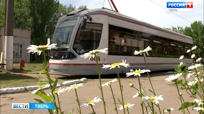 Вагоны тверских трамваев City Star простаивают в цехах