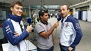 Karun Chandhok is joined by Robert Kubica George Russell for WilliamsTV in Brazil