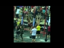 Ring and bar muscle up