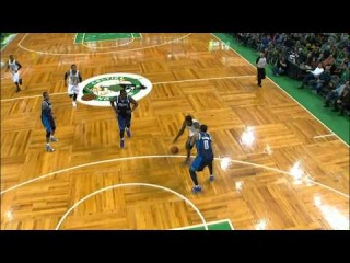 Jeff Green Hammers Home the Facial on Shawn Marion