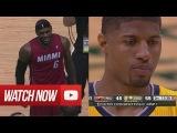 Paul George vs LeBron James Full Duel Highlights 2014 ECF G1 Pacers vs Heat