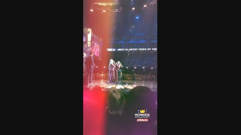 Little Mix on Instagram Stories BRITs
