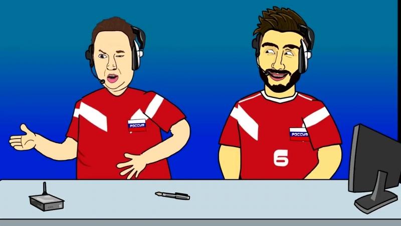 Россия Египет 3 1 Обзор матча Мультбол mp4