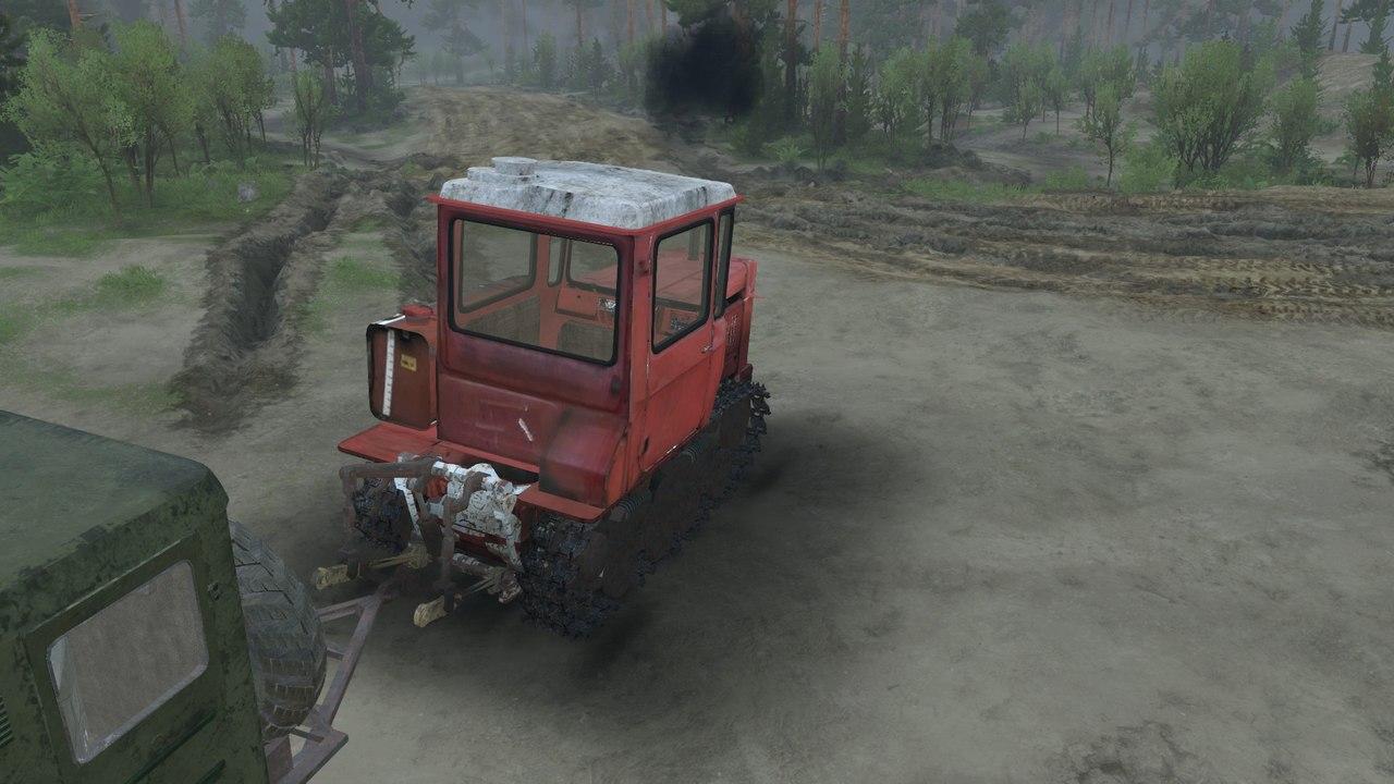 Трактор ДТ-75 v1.3 для версии 03.03.16 для Spintires - Скриншот 2