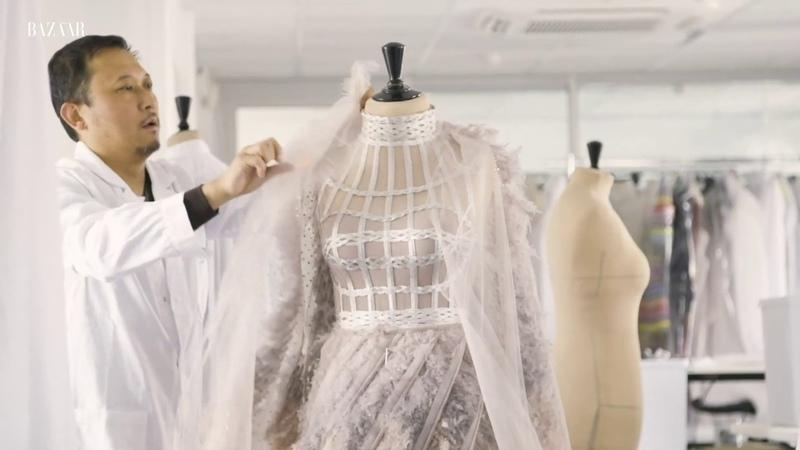 Priyanka Chopras Dior Met Gala dress took 1500 hours to create