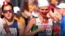 Ольга Мазуренок, несмотря на кровотечение из носа, выиграла марафон на чемпионате Европы