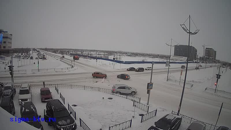 ДТП на перекрестке возле администрации города