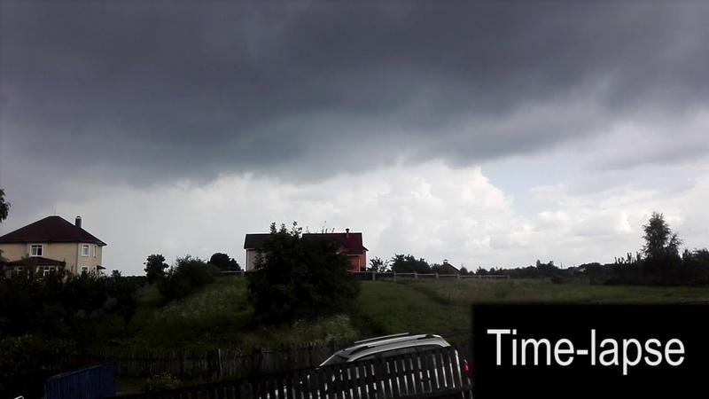 Дождь (Time-lapse)