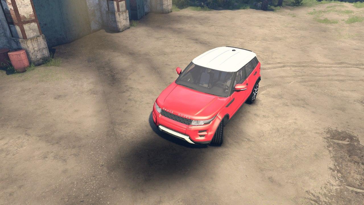 Range Rover Evoque для Spintires - Скриншот 2