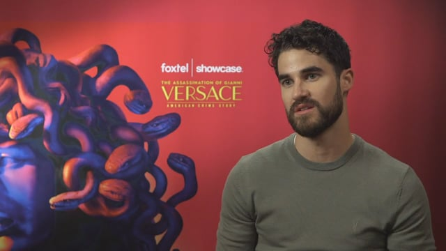 Darren Criss on brand new series, The Assassination of Gianni Versace