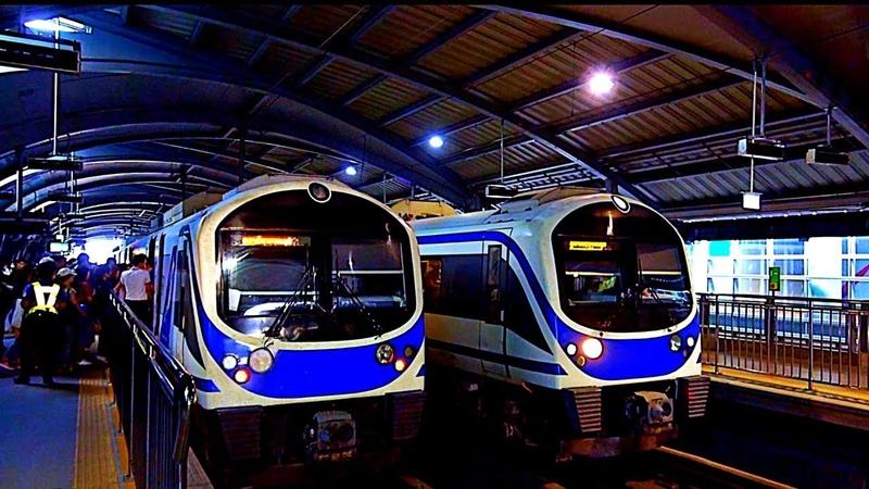 RailWay. Bangkok Airport Rail Link Trains / Бангкок. Поезда Аэропорт Рейл Линк