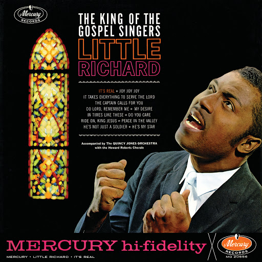 Little Richard альбом The King Of The Gospel Singers