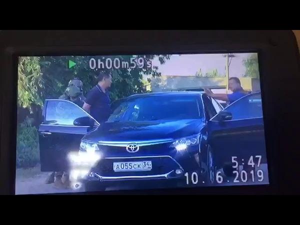 Видео задержания экс главы волгоградского СК Михаила Музраева