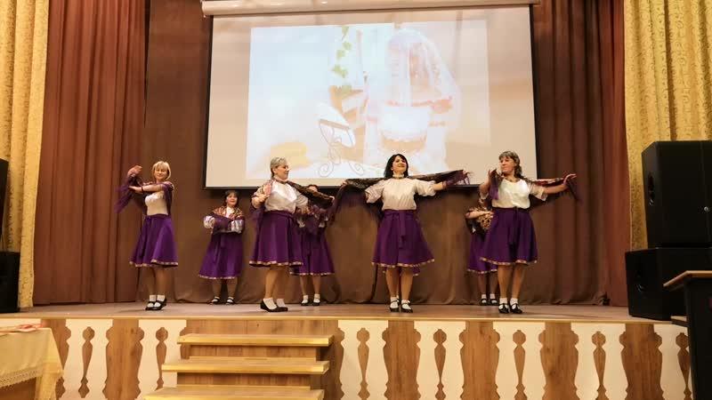 Танец педагогов Девчата ВОЛХОНСКИЙ