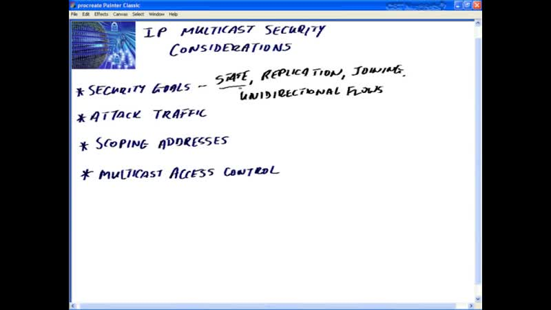 16 IP Multicast Design and Security