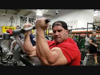Jay Cutler Trains Arms