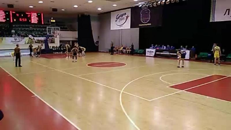 Первенство России по баскетболу Ника против Чевакоты(Вологда)