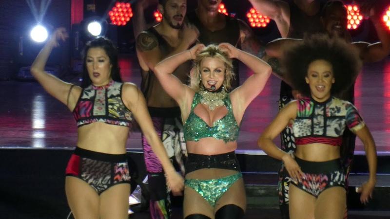 Britney Spears - Toxic - Piece of Me Tour 2018 - Live @ Sparkassenpark Mönchengladbach