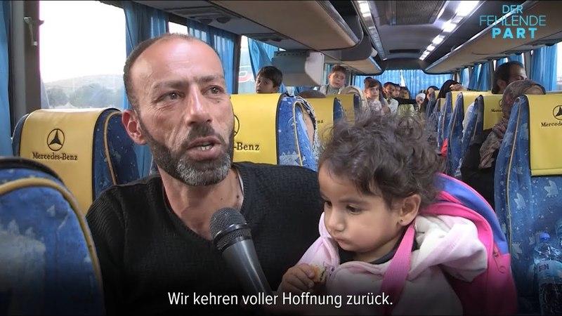 Heimkehr von 500 Syrern aus dem Exil