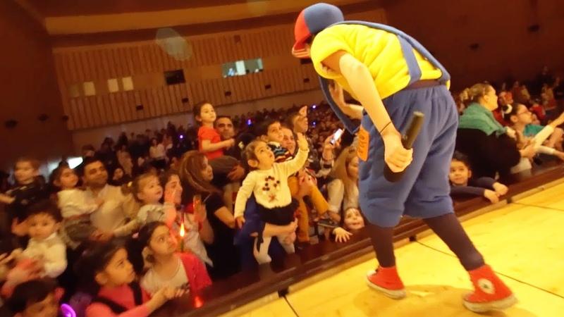 Кукутики на гастролях Весёлое приключение Концерт для детей