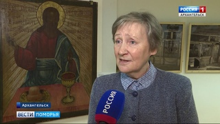 Выставочный проект «Ошевенское. История одного храма» открылся в Архангельске. Сюжет ТК «Поморье».