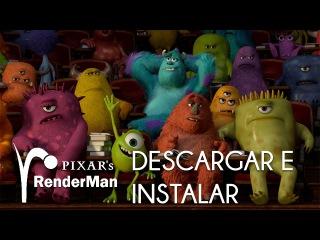 Descargar e instalar Pixar Renderman versión no comercial gratis Tutorial en español latino