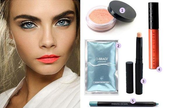 как наносить макияж фото