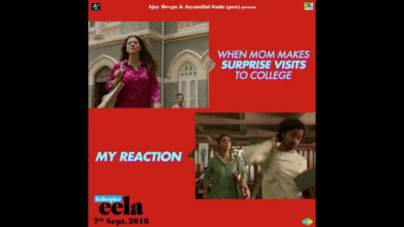 Aisi hai yeh Maa-Bete ki relationship Have you watched the HelicopterEela trailer yet