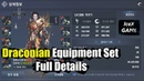 Lineage 2 Revolution Draconian Equipment Full Details