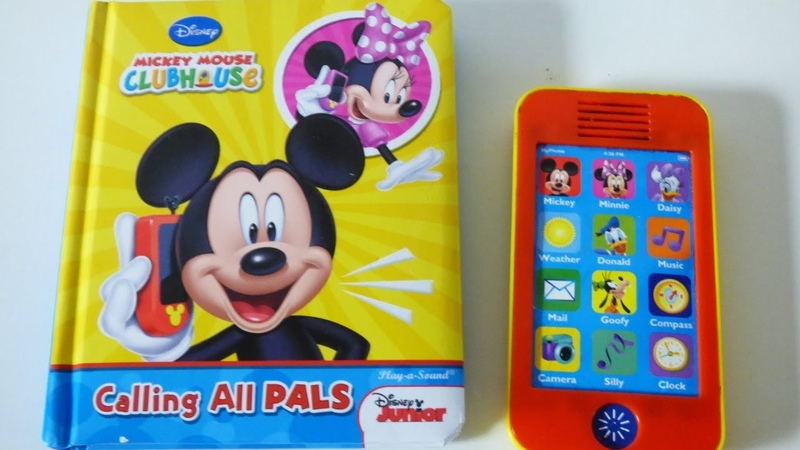 Disney Mickey Mouse clubhouse calling all pals musical sound book with phone
