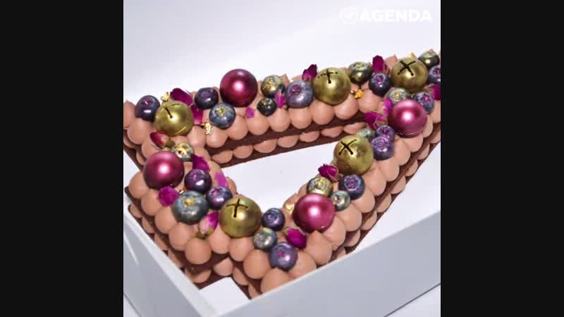 Шоколадный торт-ёлочка