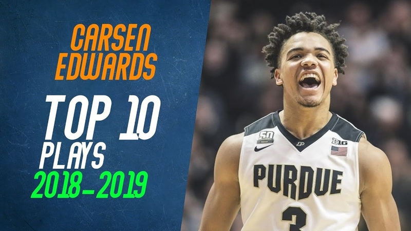 Carsen Edwards Top 10 Plays from 2018-2019 NCAA Season