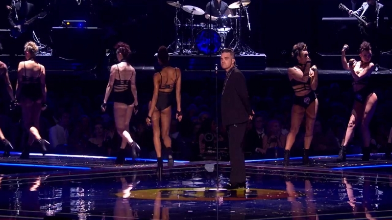 Robbie Williams _ BRIT Awards 2017 _ The Heavy Entertainment