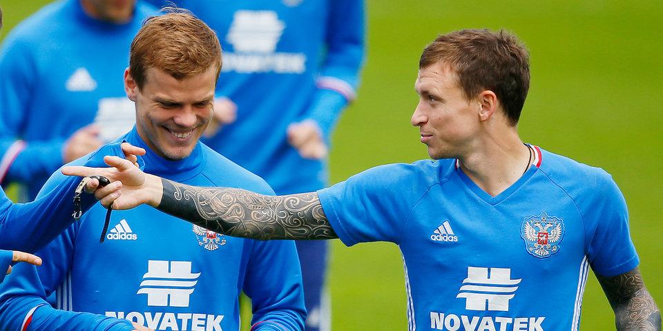 футболисты Кокорин и Мамаев