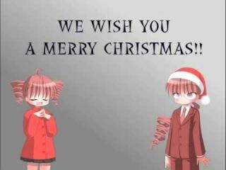 Kasane Teto+Ted-We Wish you a Merry Christmas!!