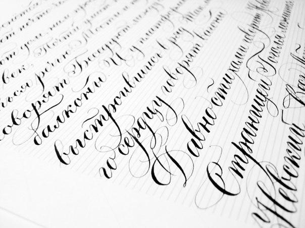 Каллиграфия Русский Прописью Красиво Алфавит
