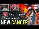 OMG 1 7s CRIT New Cancer 7 20 Chaos Knight 265% Life Steal by Arteezy Final Boss Dota 2