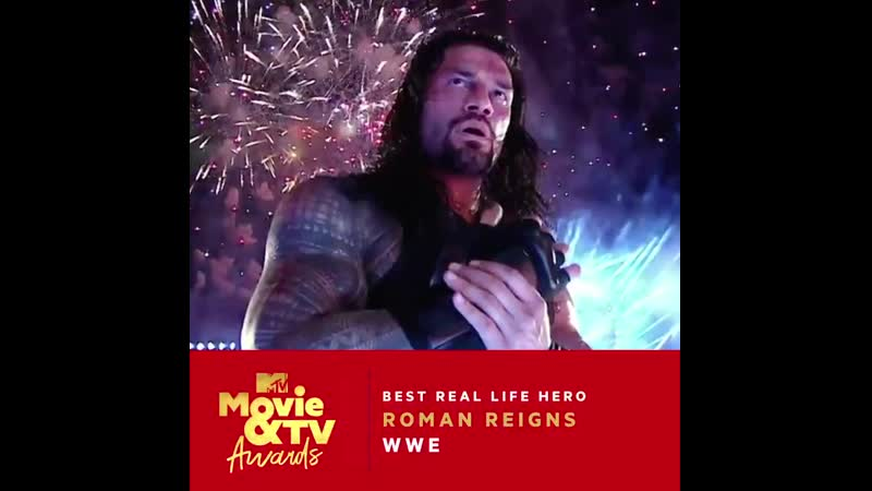 Today is the last day to vote @WWERomanReigns for Best Real Life Hero at the @MTVAwards on June 17th!