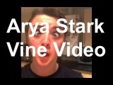 Arya Stark Vine Video Reaction To Game Of Thrones Red Wedding Maisie Williams =B