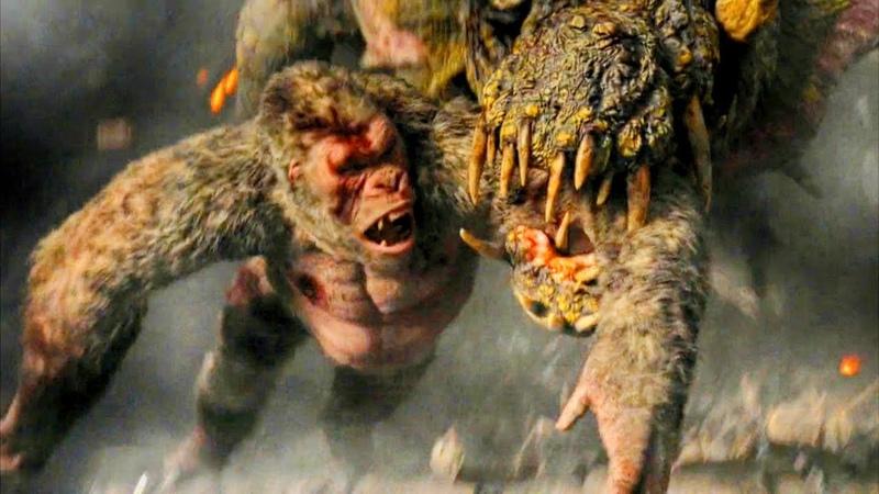 Top 10 Epic Giant Monster Fight Scenes (Volume 2) | 1080p