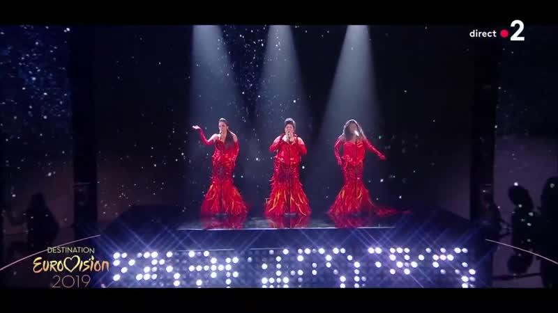 The Divaz - La Voix dAretha - Destination Eurovision 2019 (France) - 2 Semi-Final