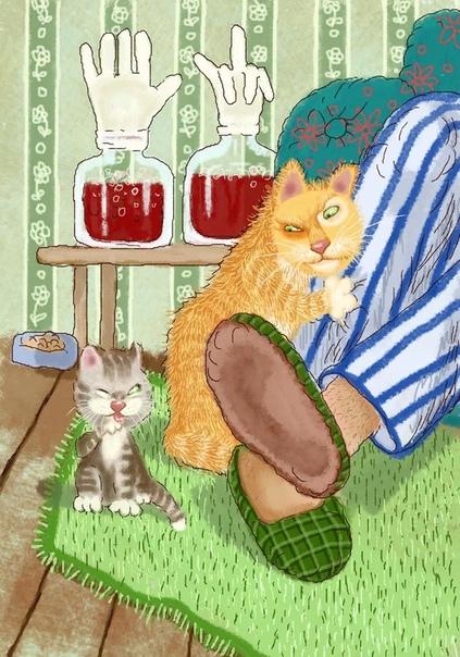 зима похоже наступает сказал мэр города олег раздайте людям чтоб согрелись котят носки вино и чай © Глеб